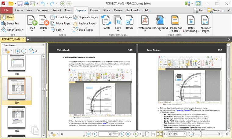 PDF-XChange Editor – Viewing