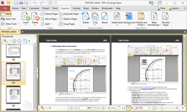 PDF-XChange Editor – Viewing