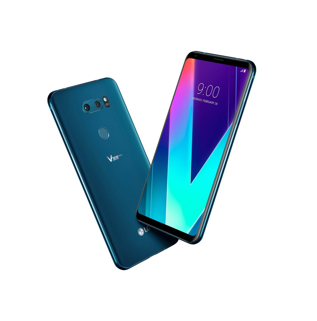 Das LG V30S ThinQ in New Moroccan Blue