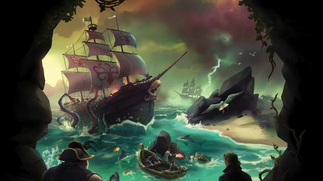 Sea of Thieves: Systemempfehlungen von 540p bis 2160p mit 60 FPS