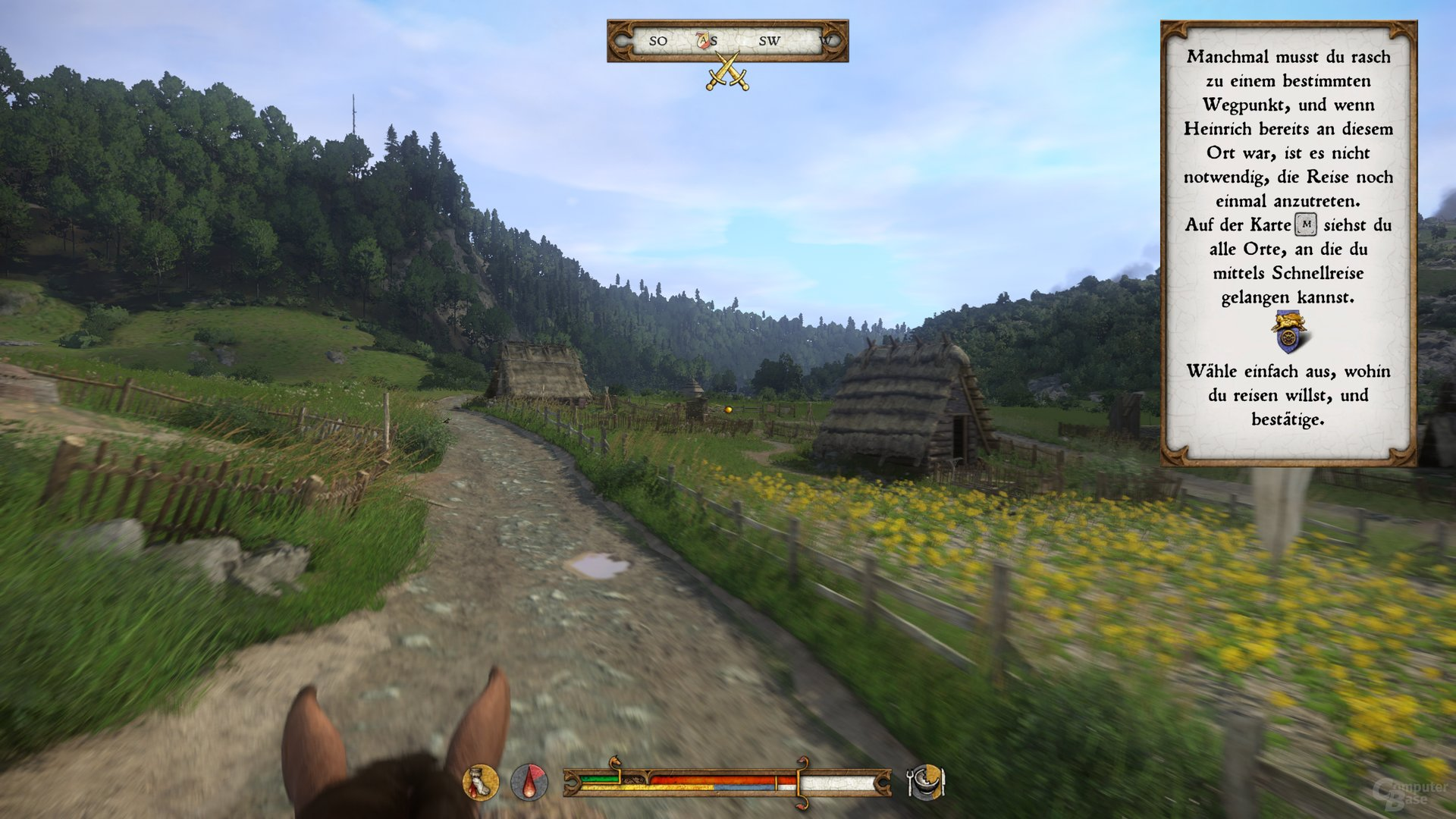 Kingdom Come Karte Komplett.Kingdom Come Deliverance Im Benchmark Test Seite 3