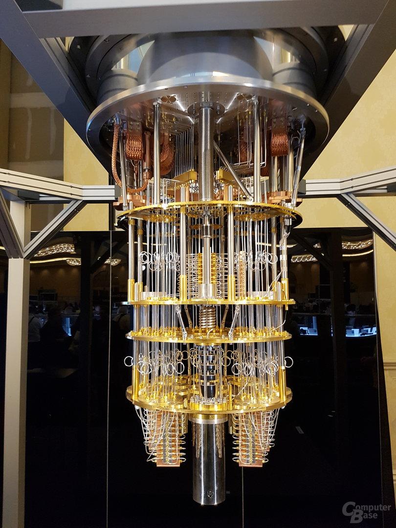 Ein Quantencomputer mit Supraleitern