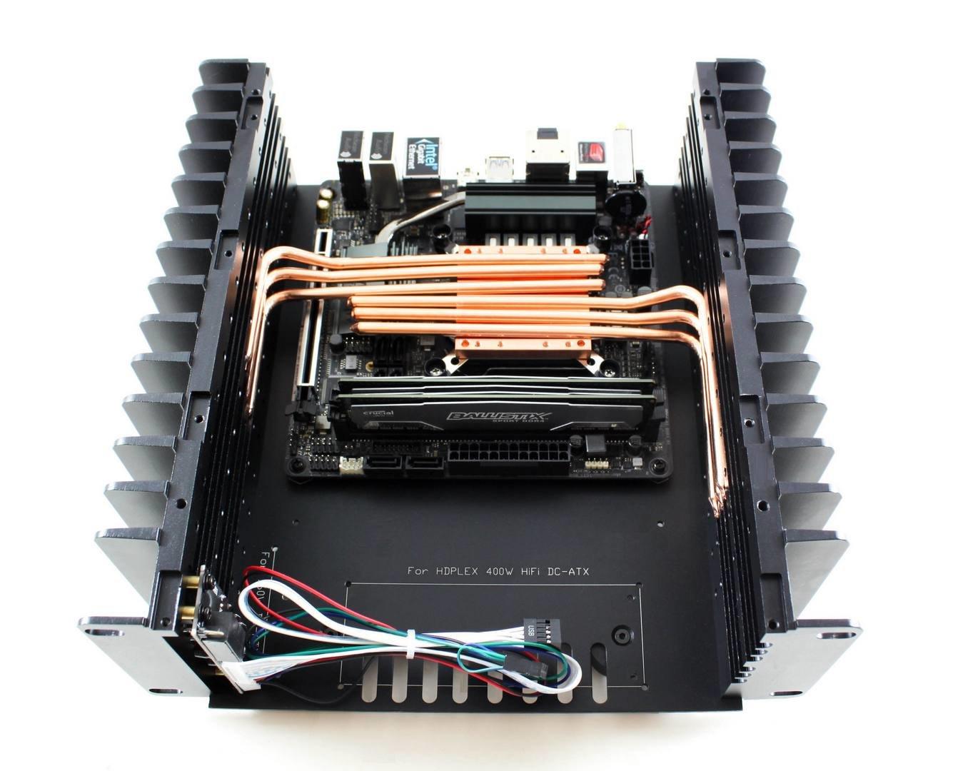 Hdplex H3 V3: Flexible Kühlung mit 6 Heatpipes für 80 Watt TDP