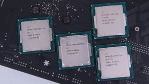 Intel Coffee Lake: Neue Prozessoren bereits vor dem Start verfügbar