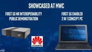 Intel-Modem: 5G-PCs von Dell, HP, Lenovo und Microsoft Ende 2019