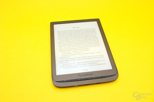 Das PocketBook InkPad 3 ermöglicht ein komfortables Lesen von digitalen Büchern