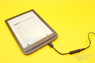 Der einfach gehaltene Audioplayer eignet sich vornehmlich für Hörbücher