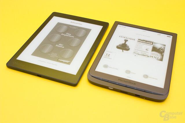 Größenvergleich Kobo Aura One und PocketBook InkPad 3