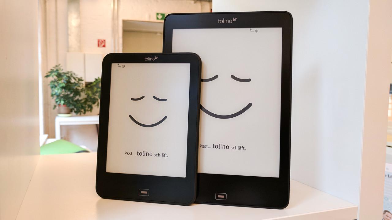 Rabattaktion: E-Book-Reader von Tolino im Preis gesenkt