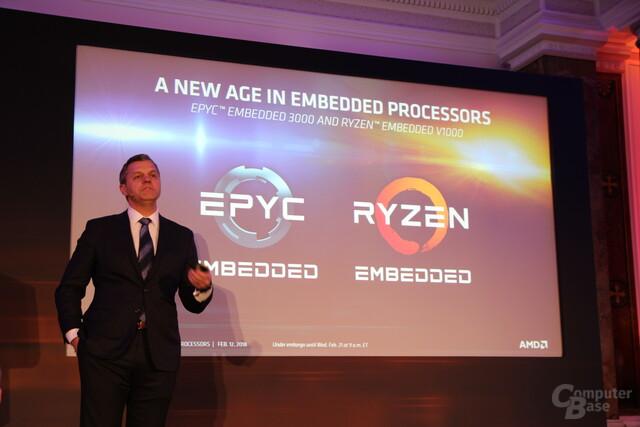 Scott Aylor, Vize-Chef der AMD Datacenter and Embedded Business Group