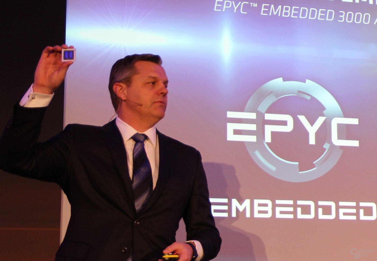 Scott Aylor mit Epyc Embedded 3000