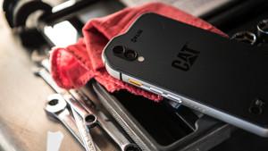 Outdoor-Smartphone: Cat S61 misst die Entfernung, Luftgüte und bis 400 °C