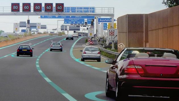 Autonomes Fahren: BMW und Daimler setzen auf HERE HD Live Map