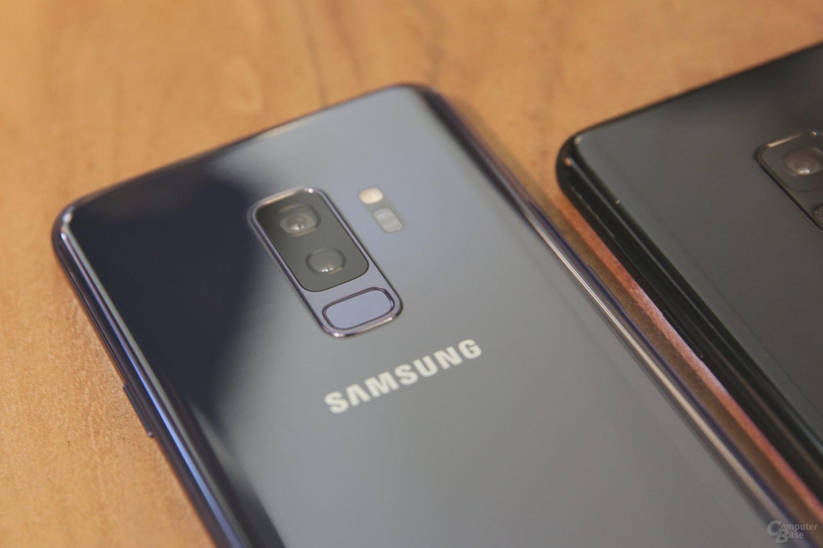 Dual-Kamera des Galaxy S9+