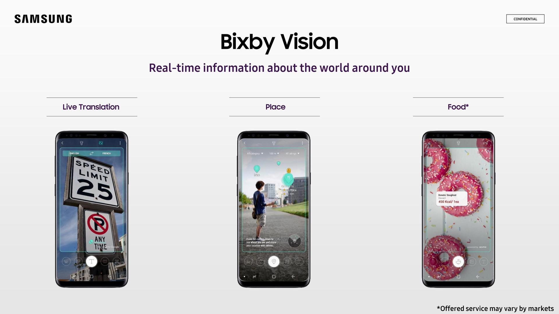 Bixby Vision gibt Hilfestellung über die Kamera