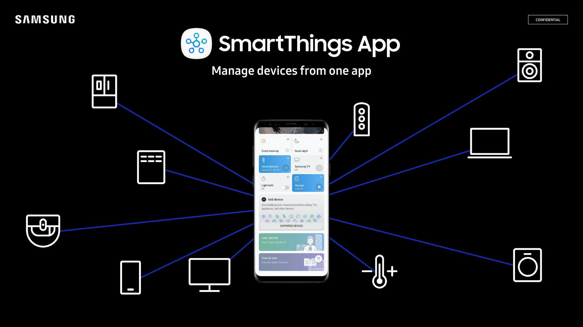 Eine neue App für alls Smart-Home-Geräte von Samsung