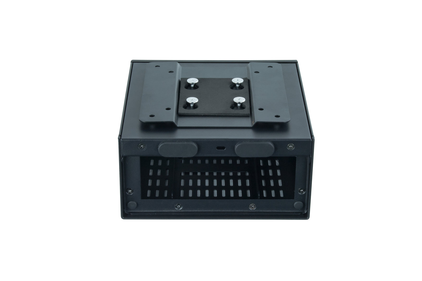 Chieftec STX-01B mit VESA-Halterung
