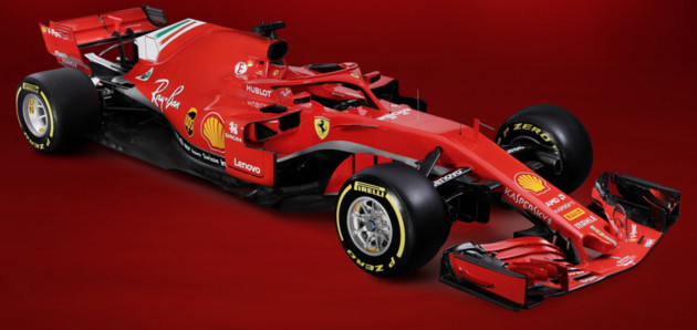 Der neue Ferrari SF71H
