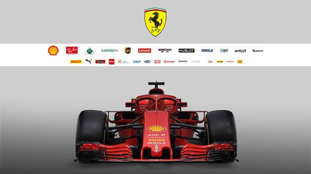 Formel 1: AMD ist wieder Sponsor der Scuderia Ferrari