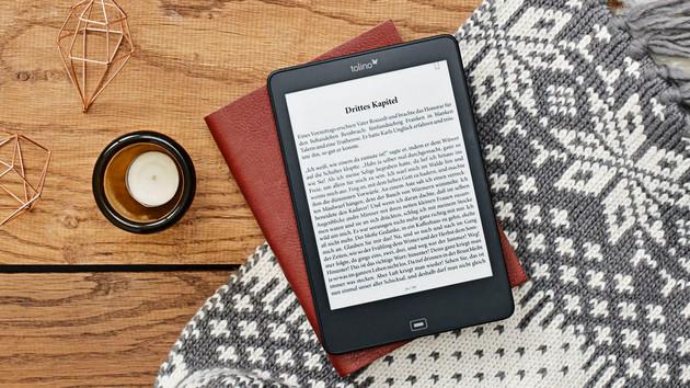 Tolino E-Book-Reader: Firmware-Update mit leichten Erweiterungen