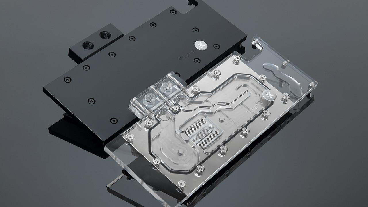 EK Water Blocks: Wasserkühlung für die 3000-Euro-GPU Nvidia TitanV