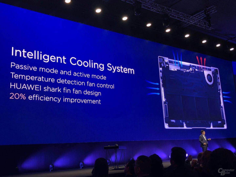 Aufbau des Kühlsystems