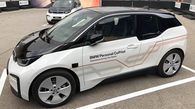 "Personal CoPilot: BMW i3 fährt autonom nach ""SAE-Level 5"""