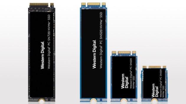 """SN720 und SN520: Western Digital setzt die """"NAND-Evolution"""" fort"""