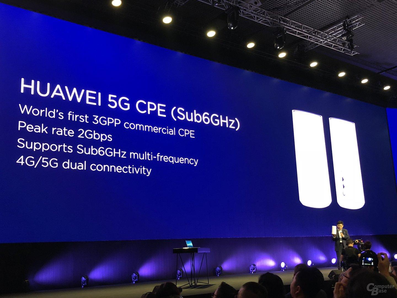 5G CPE für Sub-6-GHz