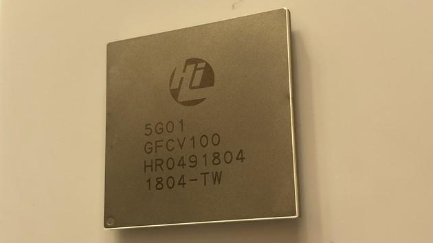 Huawei: HiSilicon zeigt sein erstes 5G-Modem Balong 5G01