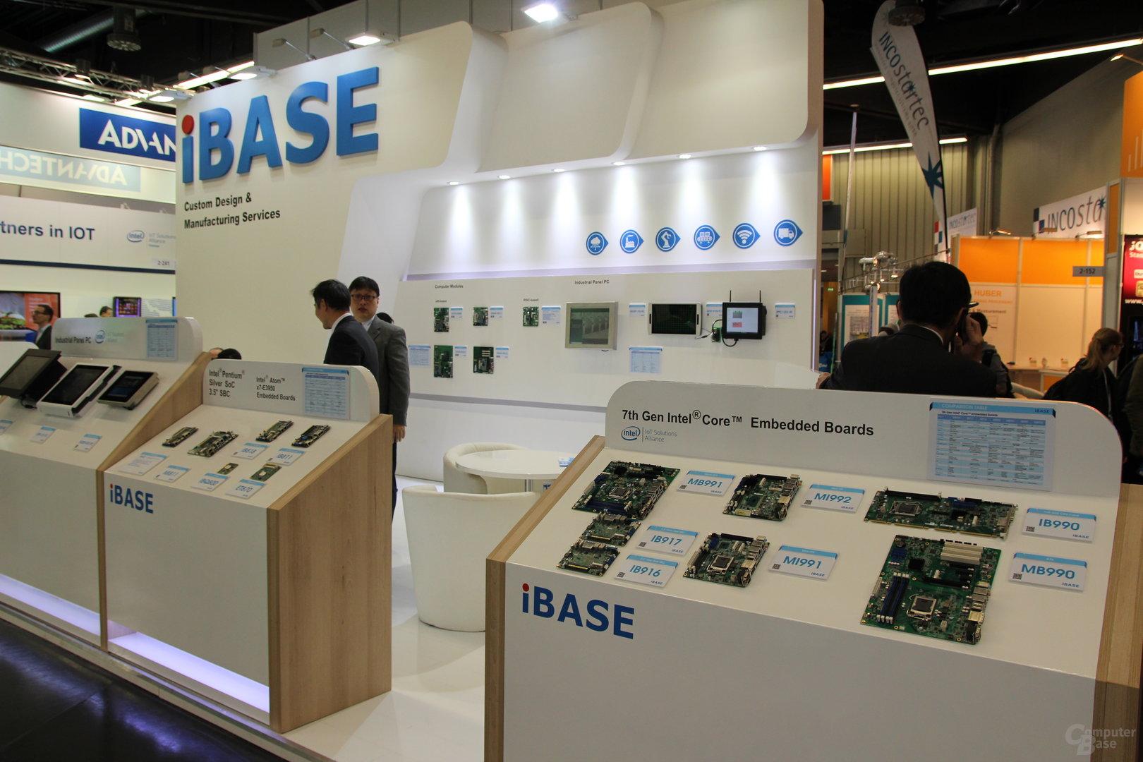 iBase zur Embedded World 2018