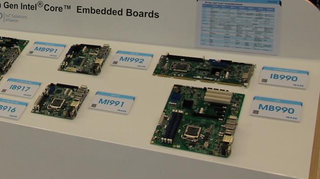 iBase: Mainboards mit C246/Q370-Chip für Coffee-Lake-Xeons
