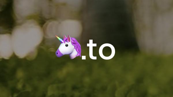🦄.to, ❤️🍺.ws: Emoji-Domains sind ihrer Zeit weiterhin voraus