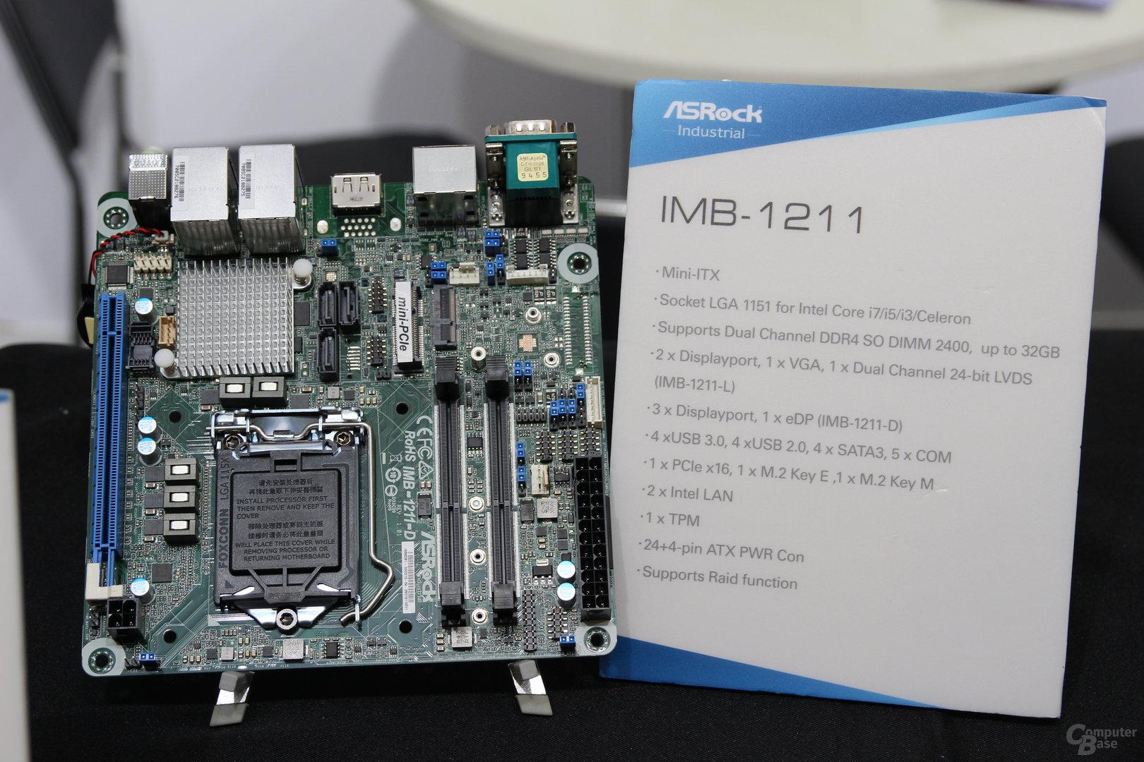 Mainboards mit H310-Chipsatz von ASRock zur Embedded World 2018