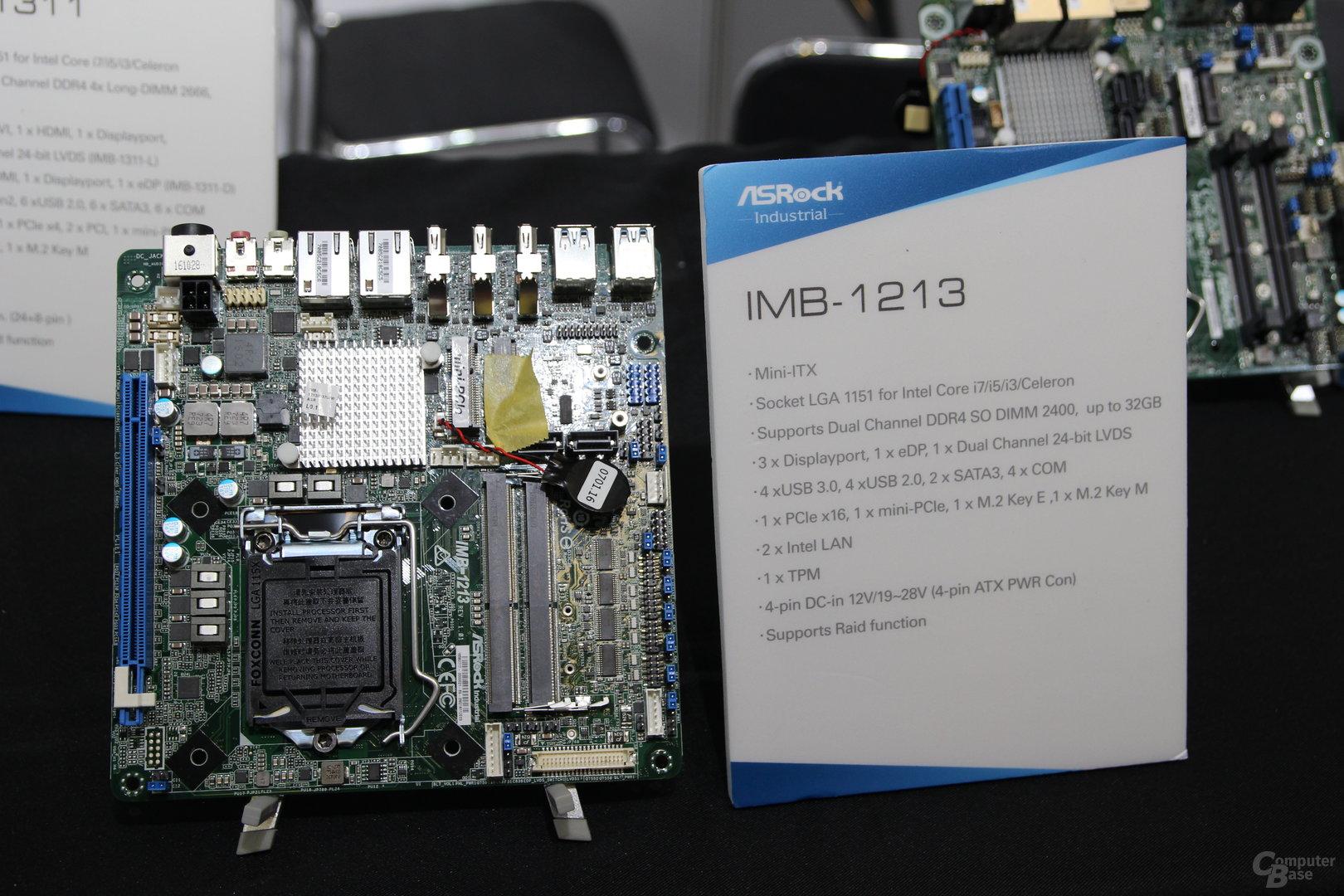 Mainboards mit Q370-Chipsatz von ASRock zur Embedded World 2018