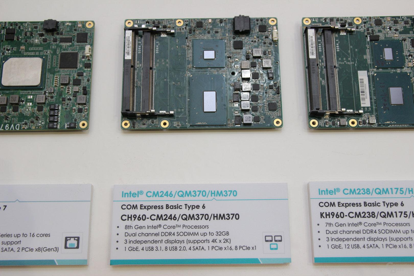 Compute Module mit QM370-, HM370- und CM246-Chipsatz von DFI