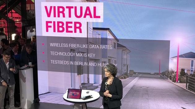 Virtual Fiber: Deutsche Telekom will 5G für die letzte Meile nutzen