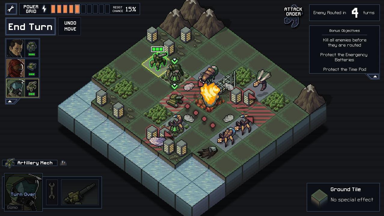 Into the Breach: Nächstes Strategiespiel der FTL-Macher erschienen