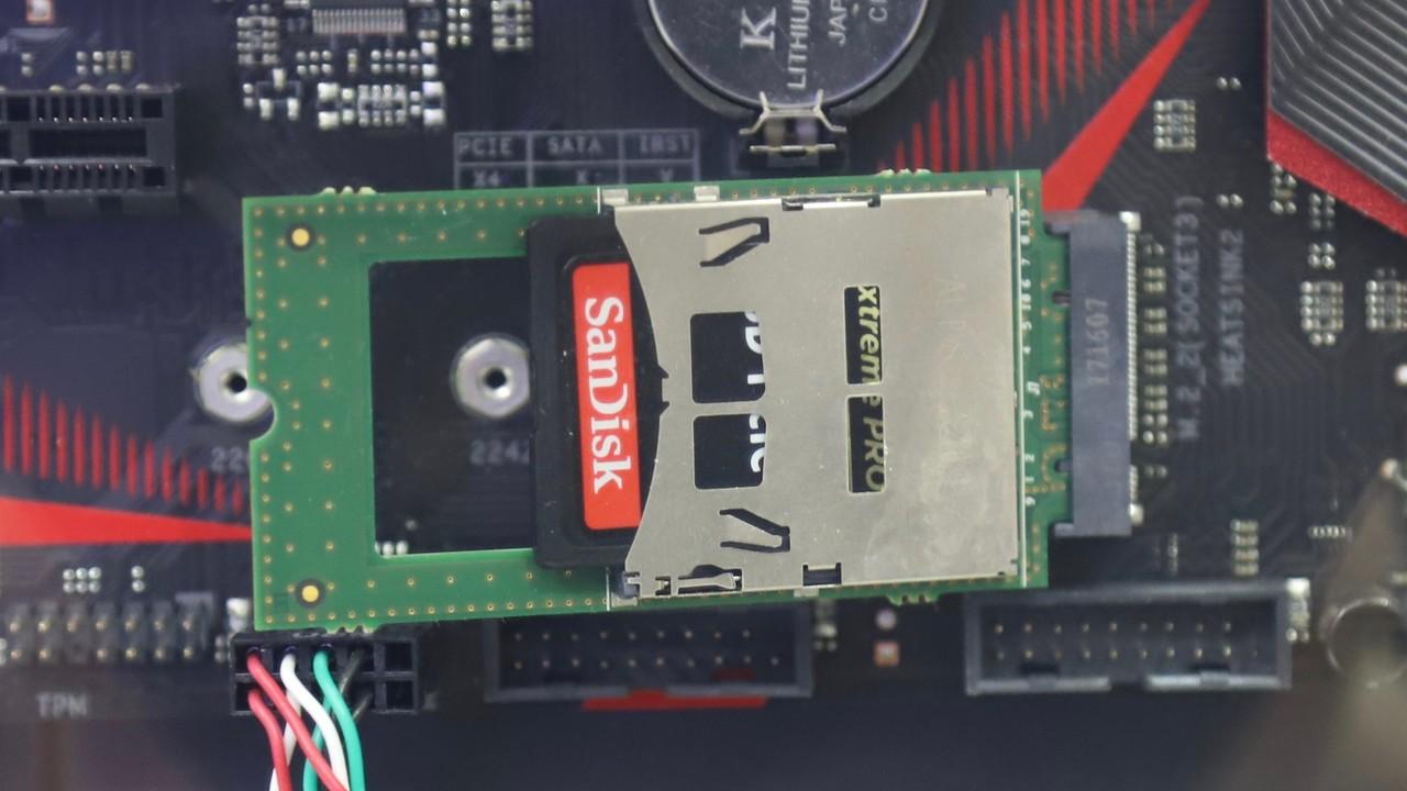 Schnelle Speicherkarten: SD-Karten setzen ab Sommer wie SSDs auf PCIe (NVMe)