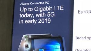 Windows 10 on ARM: Always Connected PCs mit 5G kommen schon Anfang 2019