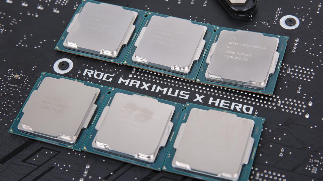 Intel Coffee Lake: Neue Celeron, Pentium und Core kommen Anfang April