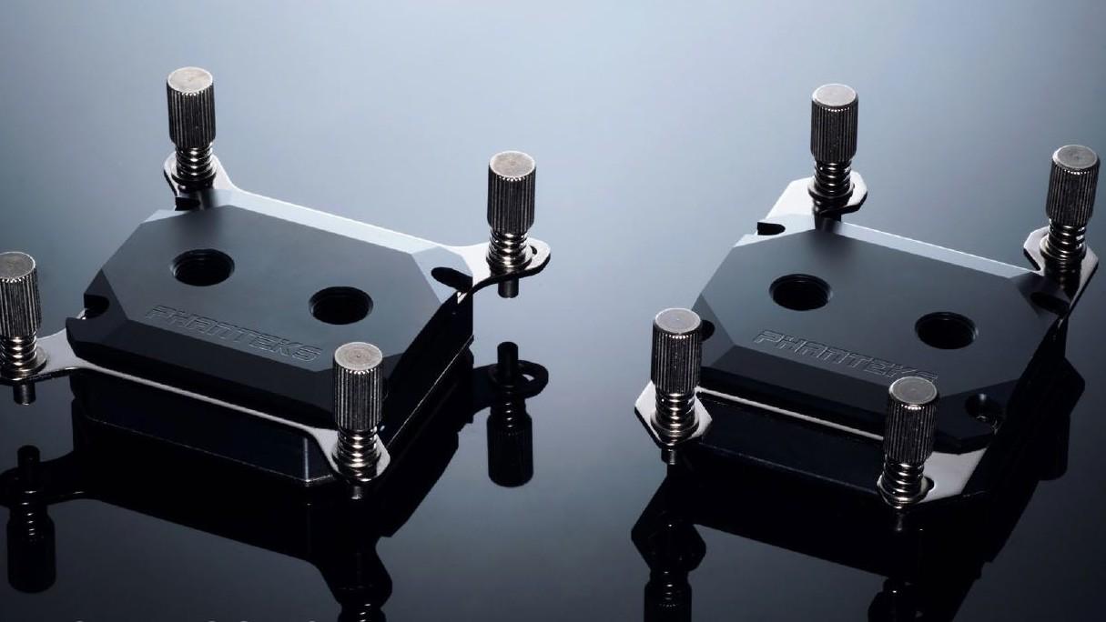 Phanteks Glacier CPU-Kühler: Wasserkühler mit Deckel aus Acetal