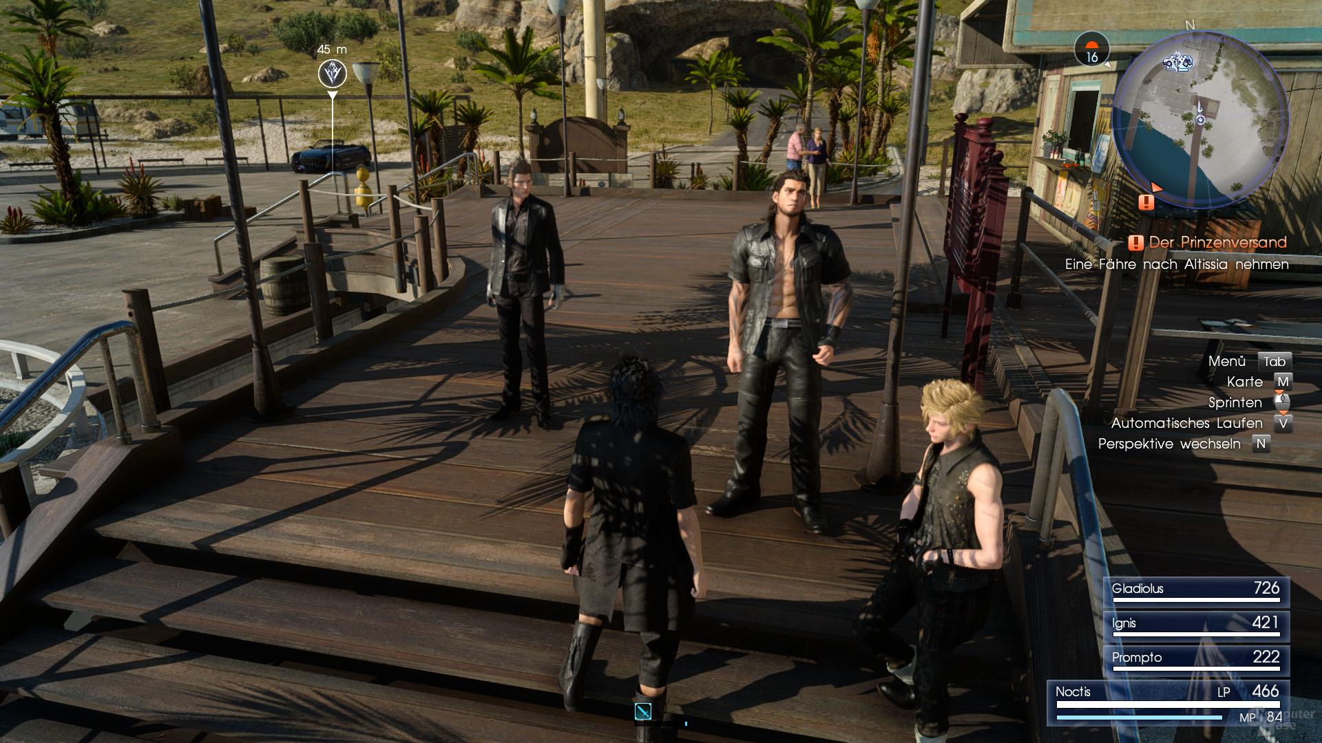 GameWorks – ShadowLibs aktiviert