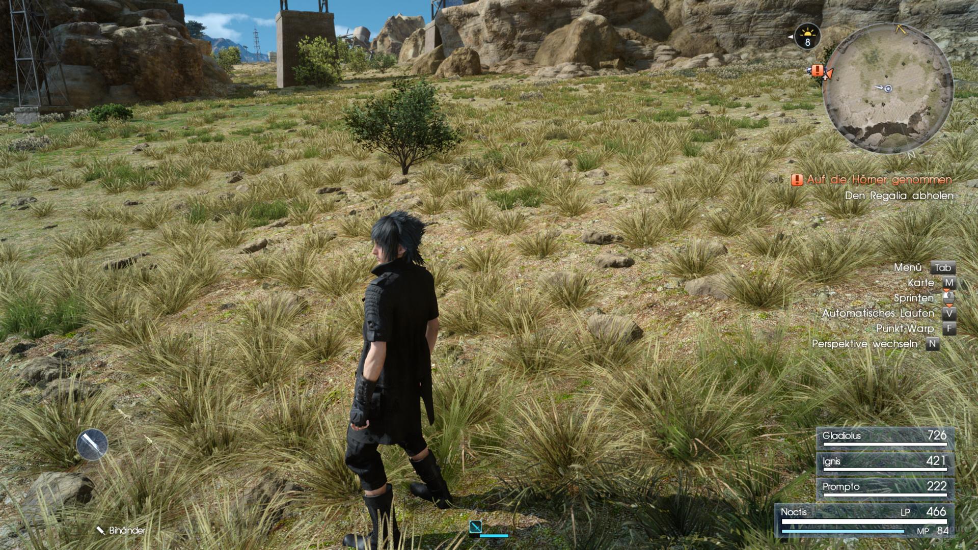 GameWorks – Turf deaktiviert