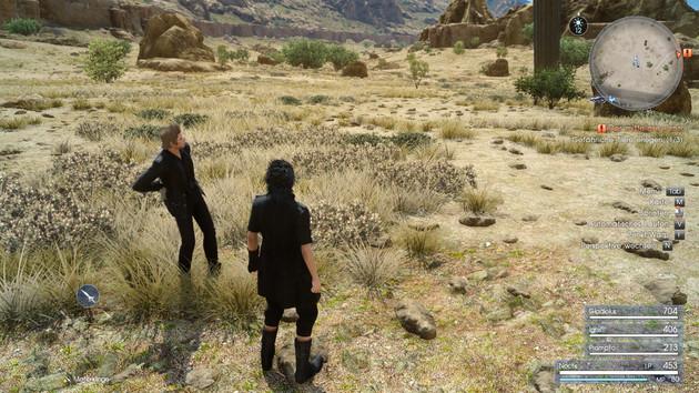Final Fantasy XV im Test: Viel Speicher ist Pflicht, Gras per GameWorks ratsam
