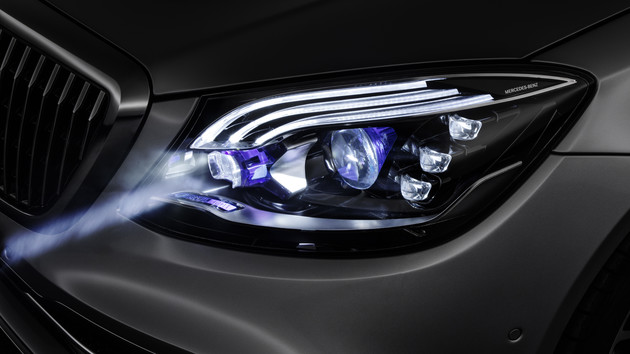 Digital Light: Mercedes-Benz bringt 2 Millionen Lichtpixel in Serie