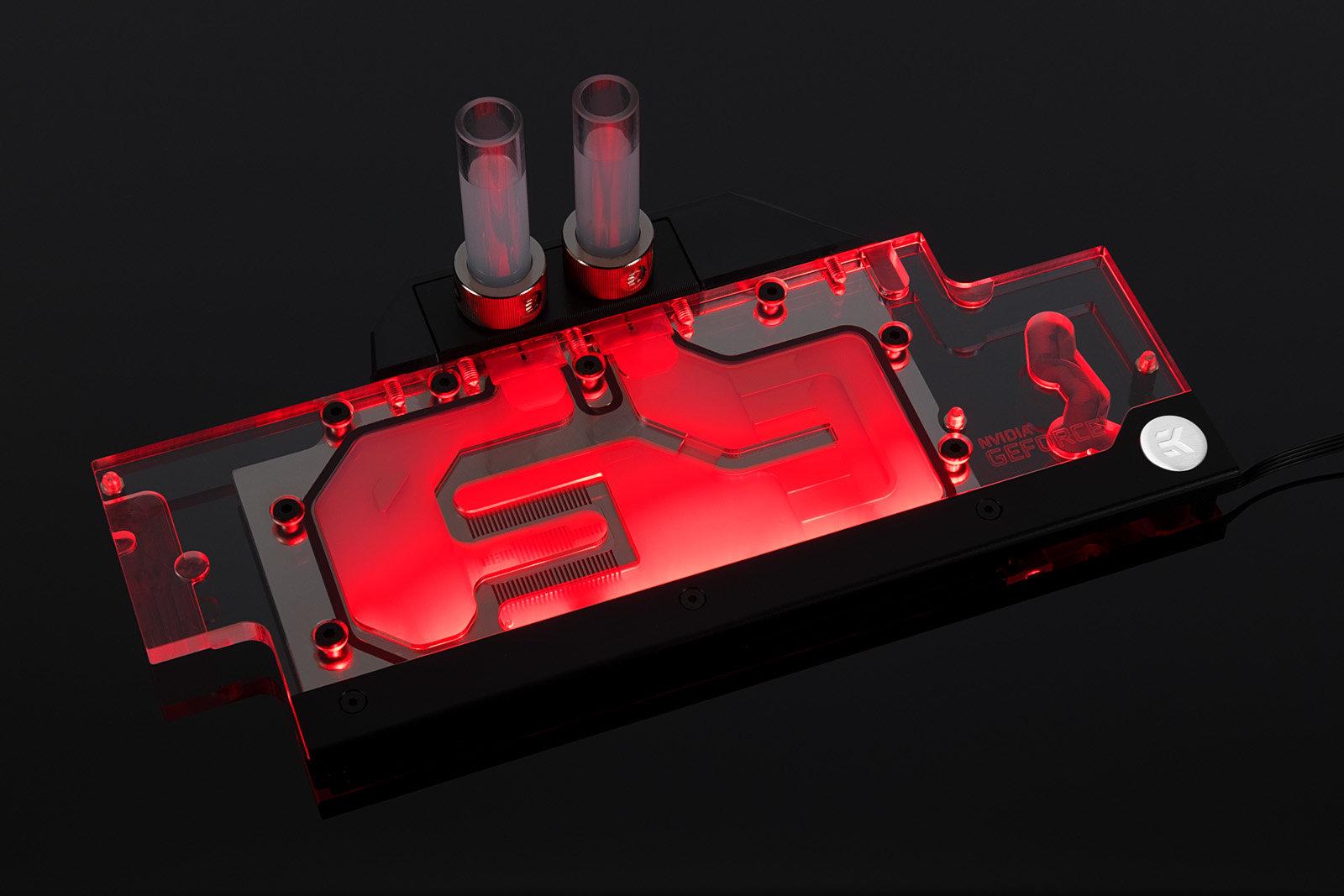 EK-FC GeForce GTX FE RGB: Beleuchteter Wasserkühler für Pascal-Referenzdesigns