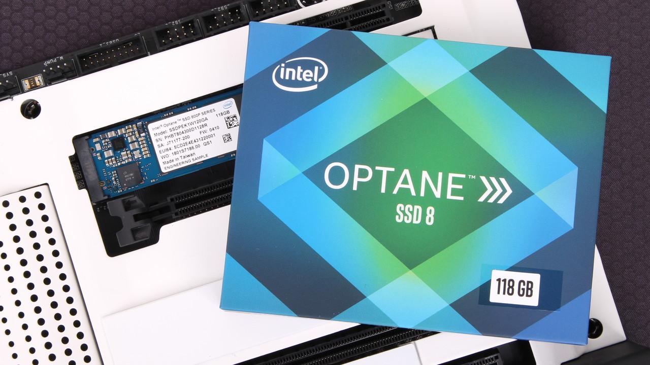 Intel Optane SSD 800P im Test: 3D-XPoint-SSDs mit 58 oder 118 GB Kapazität für M.2