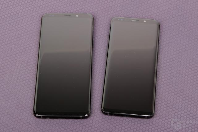 Galaxy S9+ und Galaxy S9 in Midnight Black