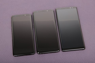 Galaxy S9, S9+ und Note 8 im Vergleich